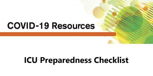 ICU PREPAREDNESS CHECKLIST