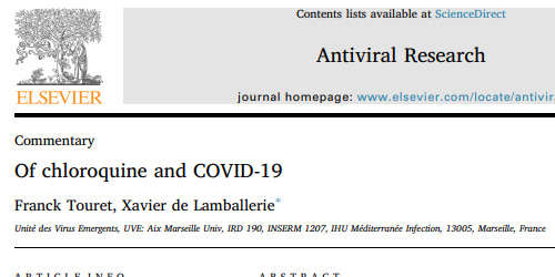 of chloroquine and covid-19