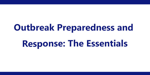 outbreak preparedness and response