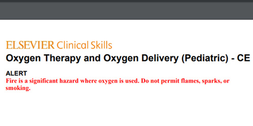 oxygen therapy and oxygen delivery