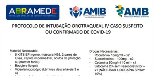 protocolo de intubacao